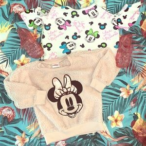 Minnie Mouse Sherpa & Crop Top for your Little!